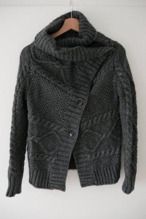 Esprit Knitted Vest dark grey mixture fibre