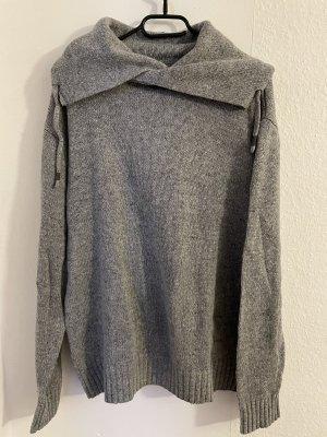 SMOG Fine Knit Jumper silver-colored