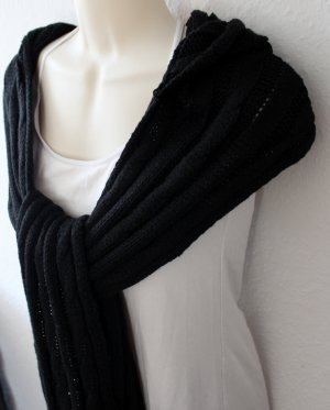 Capuchon sjaal zwart