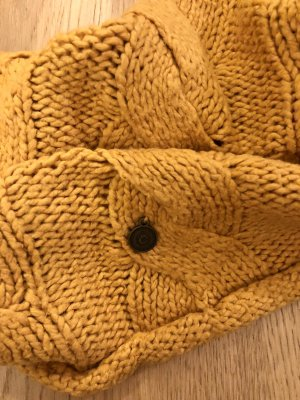 Campus by Marc O'Polo Tube Scarf gold orange-yellow wool