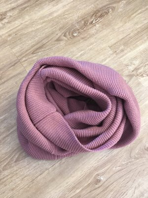 H&M Divided Tube Scarf pink-rose-gold-coloured