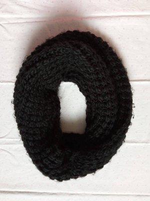 s.Oliver Tube Scarf black wool