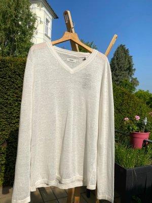 Mexx Linen Blouse white linen