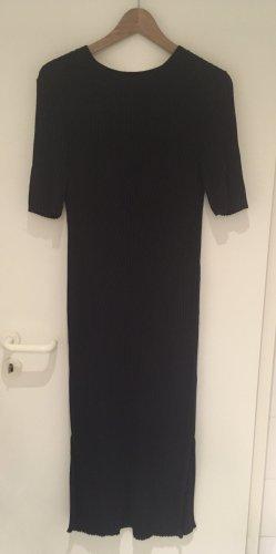 H&M Vestido de tubo azul oscuro Algodón