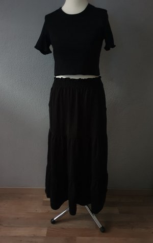 Monki Spódnica midi czarny