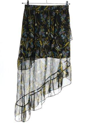 Gestuz Asymetryczna spódniczka Wzór w kwiaty W stylu casual