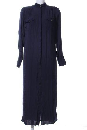 Gestuz Robe chemisier bleu style décontracté