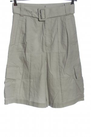 Gestuz Pantaloncino a vita alta grigio chiaro stile casual