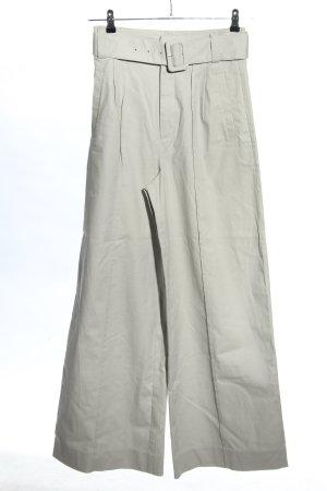 Gestuz Spodnie z wysokim stanem jasnoszary W stylu casual