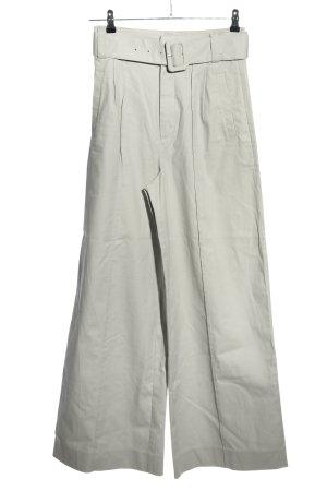Gestuz Pantalone a vita alta grigio chiaro stile casual