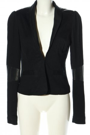 Gestuz Kurz-Blazer schwarz Business-Look