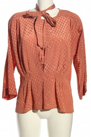 Gestuz Langarm-Bluse rot Business-Look
