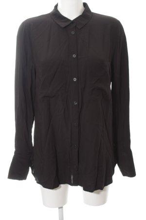 Gestuz Langarm-Bluse schwarz Casual-Look