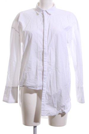 Gestuz Langarm-Bluse weiß Elegant