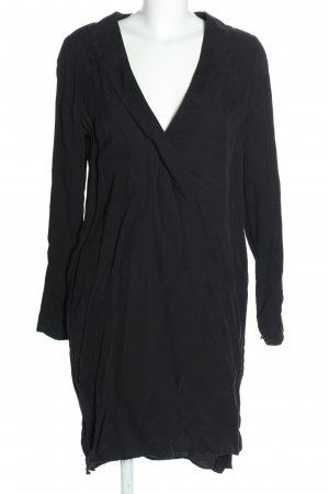 Gestuz Robe à manches longues noir style décontracté