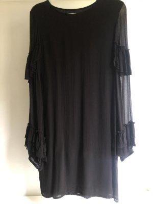 Gestuz Robe à manches longues noir