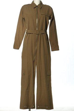 Gestuz Langer Jumpsuit brun style décontracté