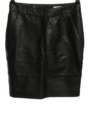 Gestuz Leren rok zwart casual uitstraling
