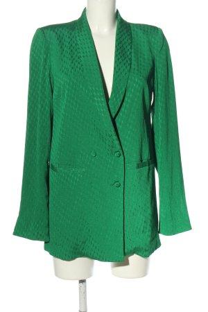 Gestuz Long-Blazer grün Business-Look