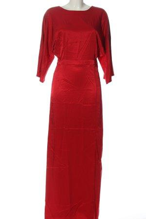 Gestuz Robe longue rouge style décontracté