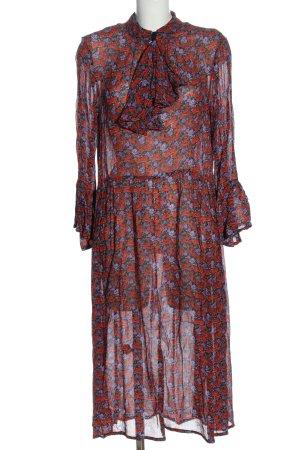 Gestuz Robe mi-longue imprimé allover style décontracté