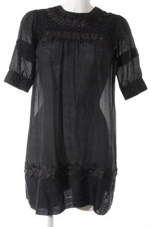 Gestuz Robe courte noir motif graphique style décontracté
