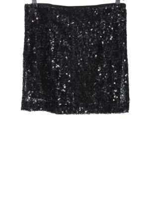 Gestuz Minirock schwarz extravaganter Stil