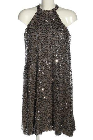 Gestuz Cekinowa sukienka brązowy W stylu casual