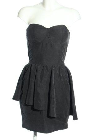 Gestuz schulterfreies Kleid schwarz Elegant