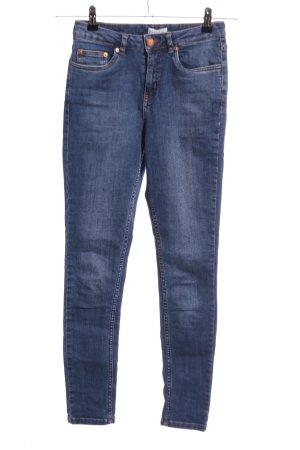 Gestuz Skinny Jeans blau Casual-Look