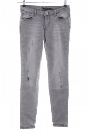 Gestuz Slim Jeans light grey casual look