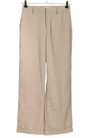 Gestuz Pantalone jersey crema stile professionale