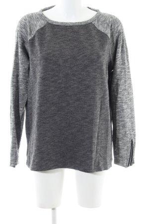 Gestuz Sweatshirt hellgrau meliert Casual-Look