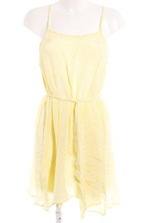 Gestuz Robe à bretelles jaune clair