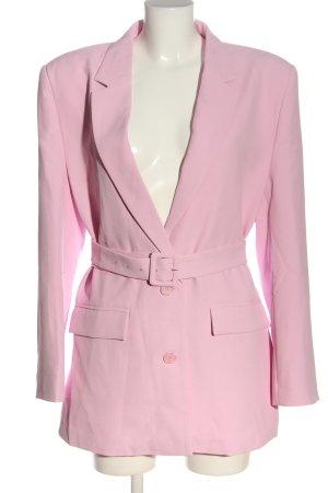 Gestuz Płaszcz przejściowy różowy Elegancki
