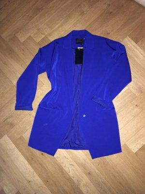 Gestuz Übergroßer blauer Blazer 100% Viskose