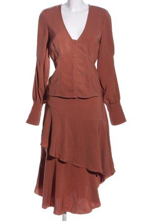 Gestuz Woven Twin Set brown casual look