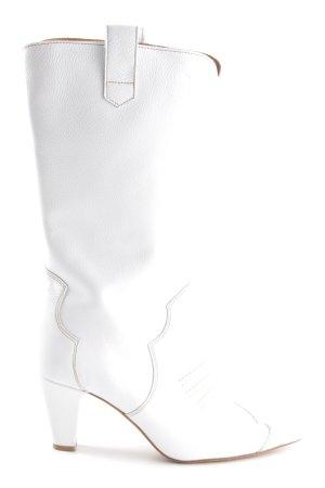 Gestuz Boots western blanc style décontracté