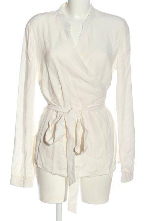 Gestuz Kopertowa bluzka biały W stylu casual