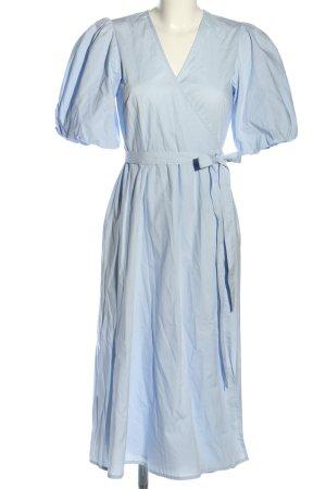 Gestuz Wickelkleid blau Casual-Look