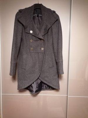 Gestuz Manteau d'hiver gris foncé-gris anthracite