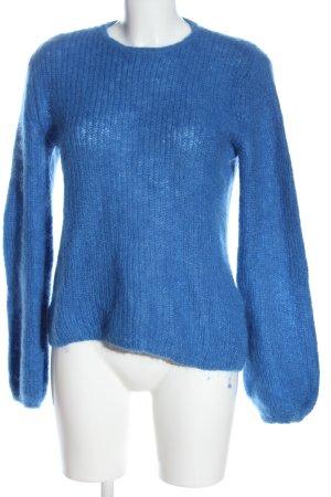 Gestuz Wool Sweater blue casual look