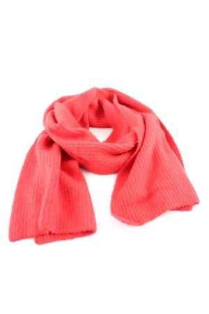 Gestuz Écharpe en laine rouge style décontracté