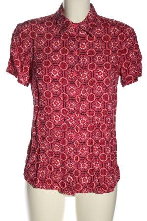 get in on Chemise à manches courtes motif abstrait style décontracté