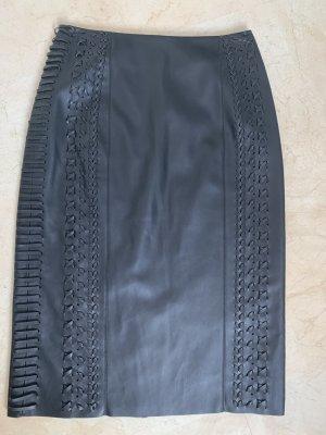 get it on Rok van imitatieleder zwart Polyester