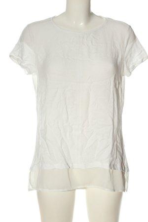 get it on Blouse à manches courtes blanc style décontracté