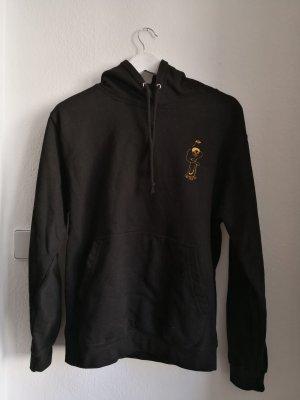 GETRASH CLOTHING Jersey con capucha negro-amarillo