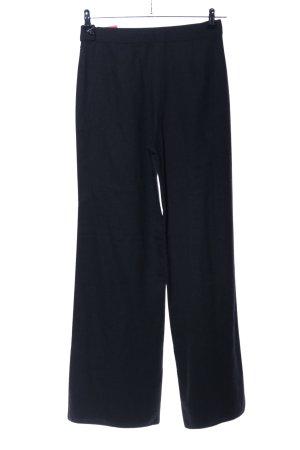 GEUEN Pantalone di lana nero stile professionale