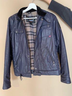 Gewachste Jacke von Belstaff blau