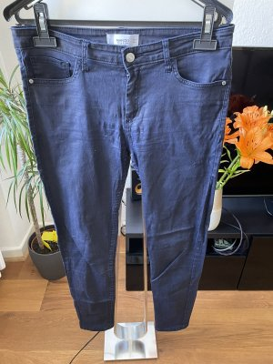 Gewachste Jeans coated Jeans Mango Größe 38